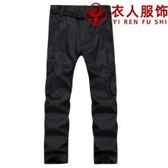 深灰单层冲锋裤(男款)