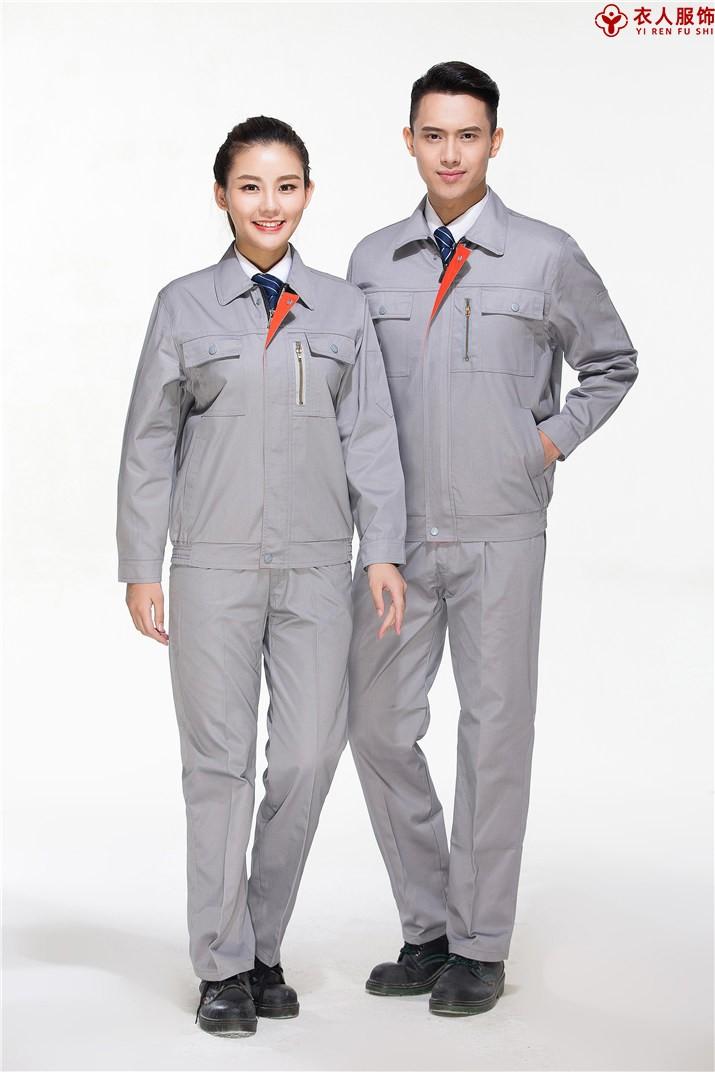 灰色防静电工作服