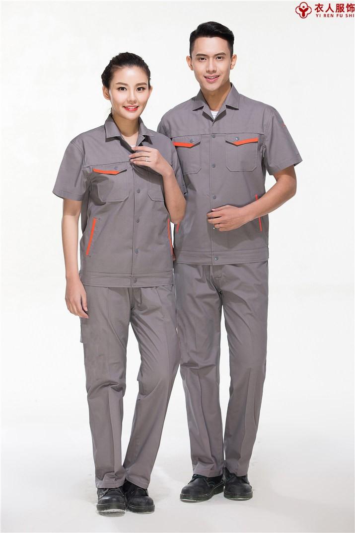 灰色纯棉夏装短袖